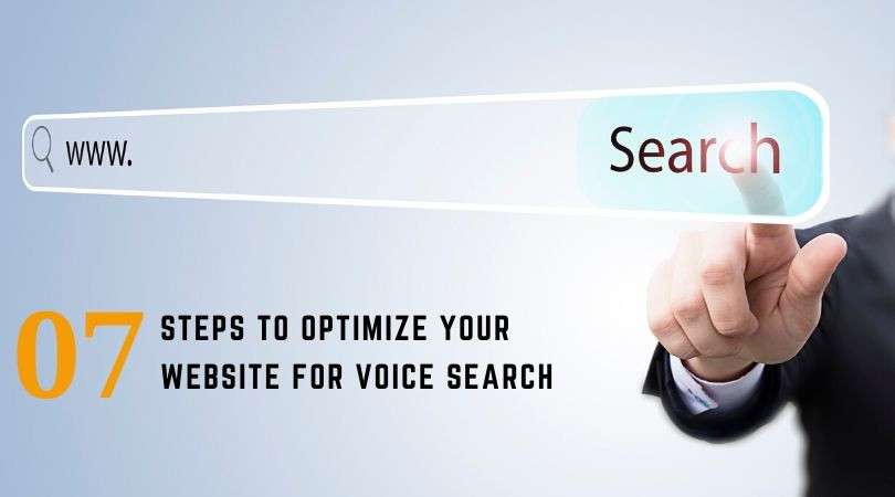 7 steps to optimize your website for voice search
