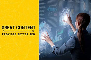 Great Content Provides Better SEO