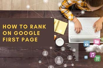 how to rank on google first page