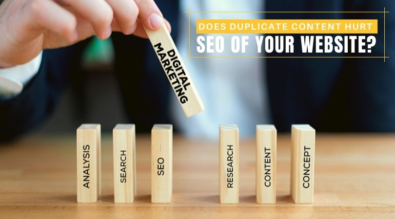 Does Duplicate content hurt SEO of your website?